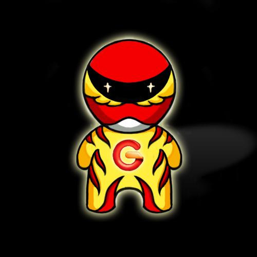 """""""g""""的读音会令人们联想到机器人 于是机器人演变成了g型小超人 且该形"""