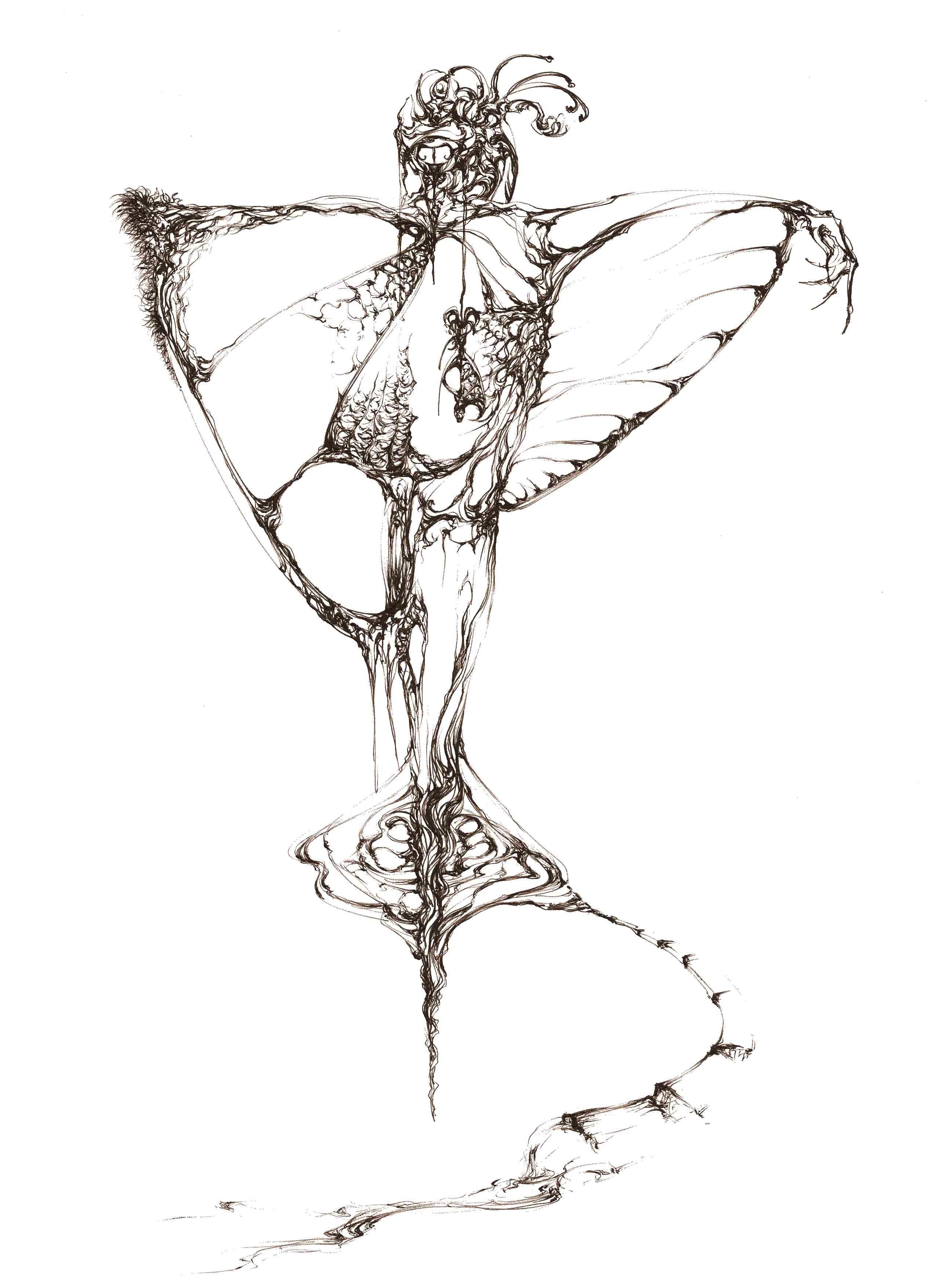 女巫卡通图片手绘