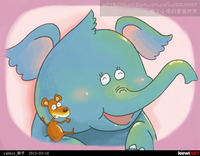 小鼠嗅球解剖图卡通图