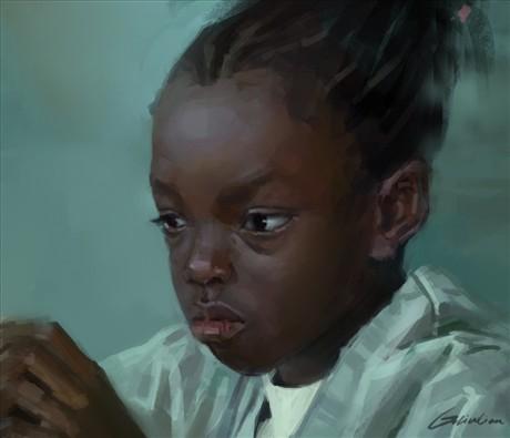 作品 黑人小孩