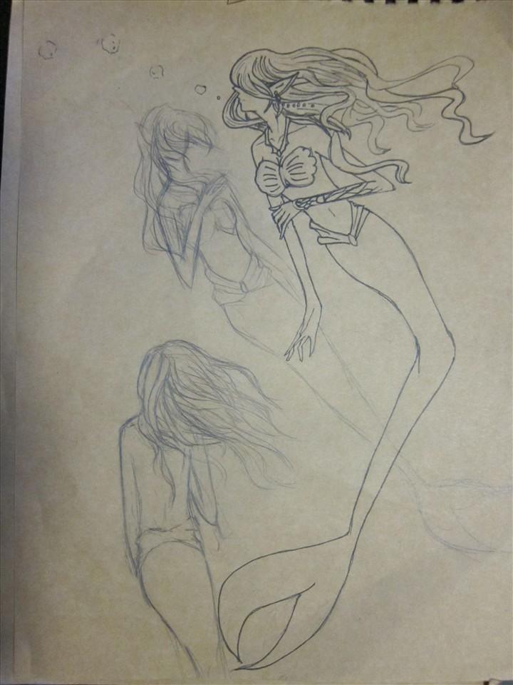 国画 简笔画 手绘 素描 线稿 720_960 竖版 竖屏