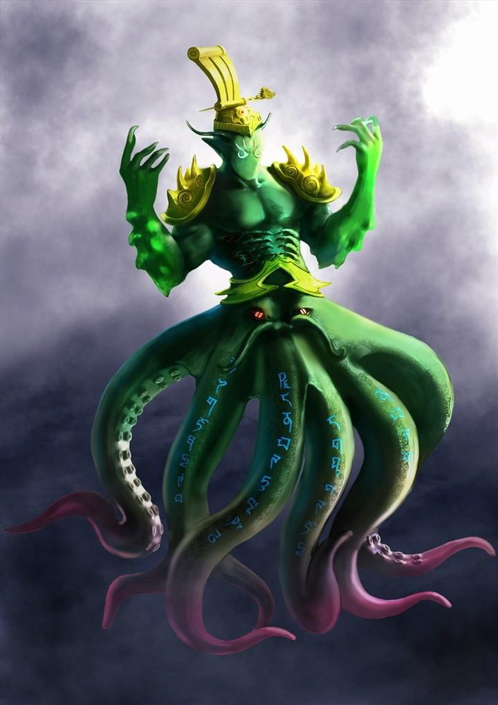 美少女战士被章鱼怪