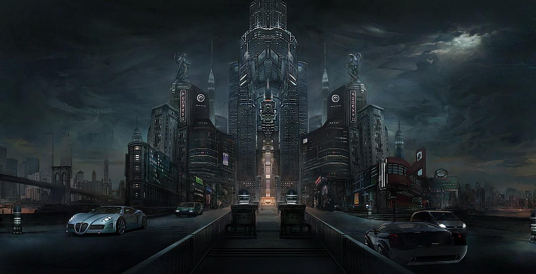 国际资讯_未来都市 由 NAMO 创作 | 乐艺leewiART CG精英艺术社区,汇聚优秀CG ...