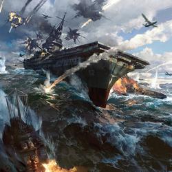 雷霆海战项目图