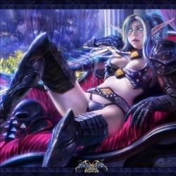 精灵女战士