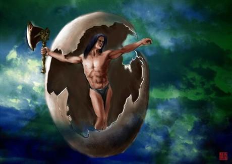 酒泉神话之盘古昆仑造天堂的传说