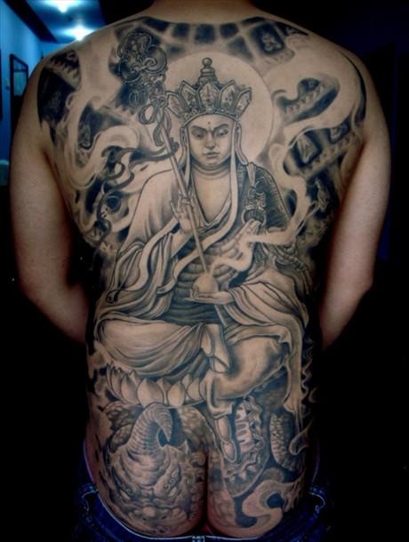 地藏菩萨小尚纹身