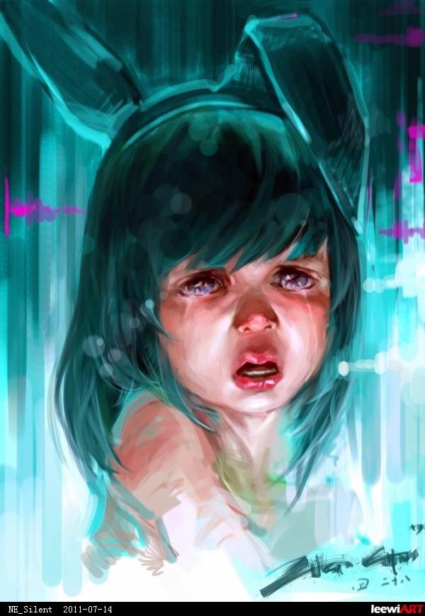 小孩打针哭的视频图片