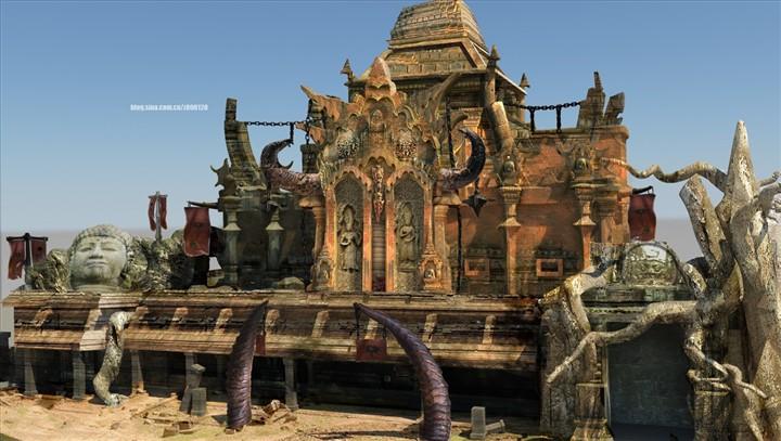 部落建筑 由 rin 创作