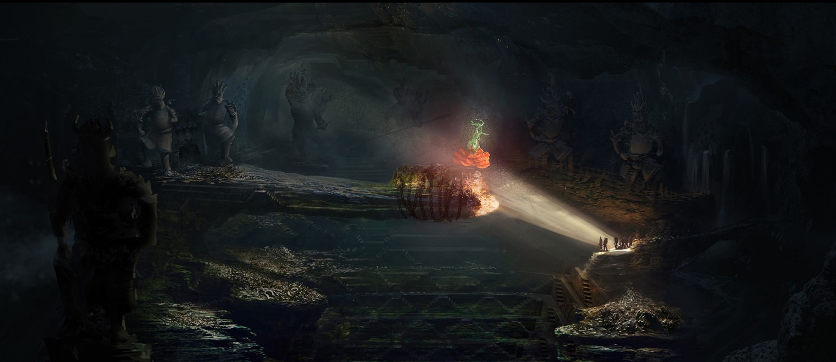 《鬼吹灯1》场景概念设计visio怎么绘制用例图图片