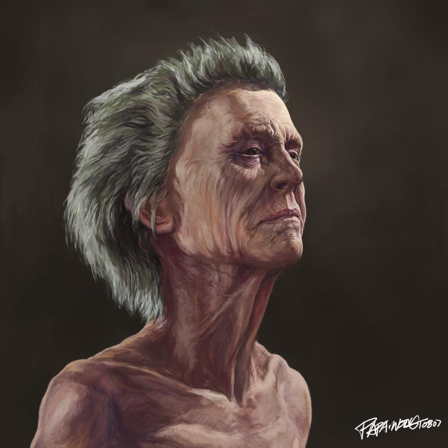 老人头像 由 papa1 创作