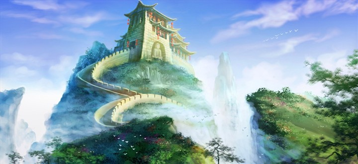 仙居风景高清图片