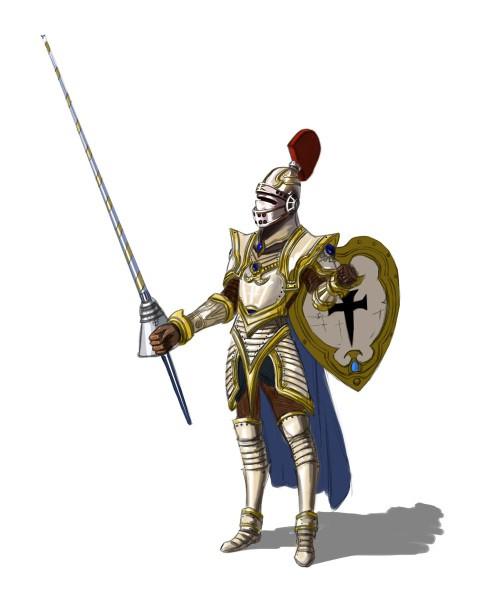 中世纪战士