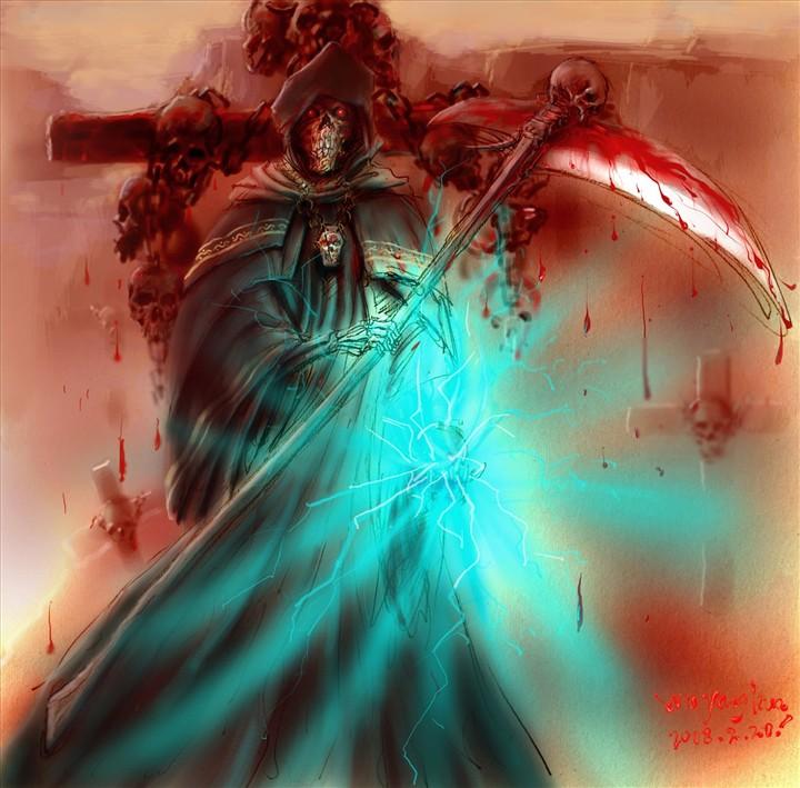 死神逐帧动画素材