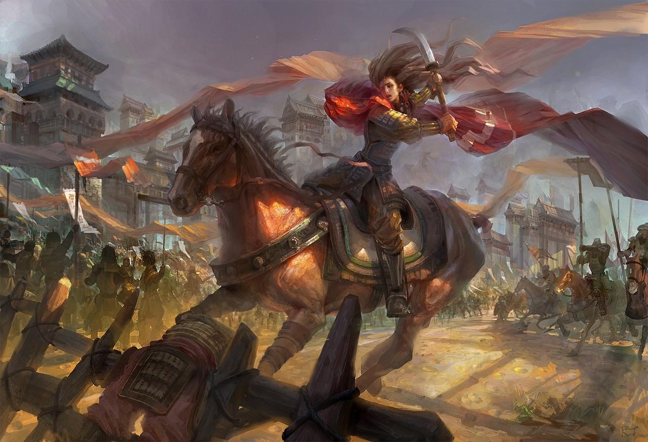 战场硝烟游戏背景素材