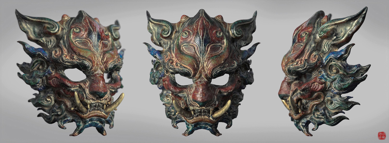 狮子金刚面具二