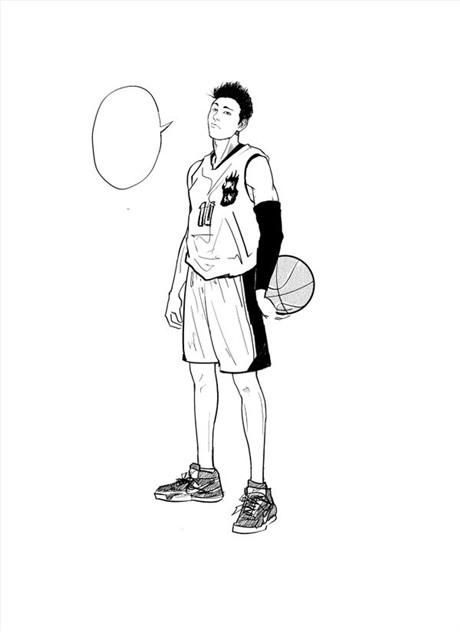 作品 篮球小子