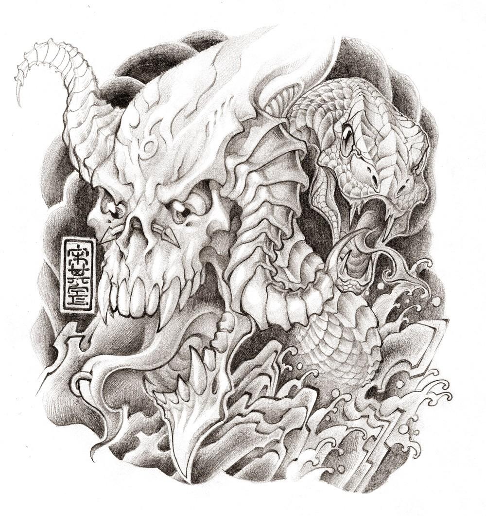 纹身设计 由 小肚皮 创作 | leewiart 乐艺 建立你的