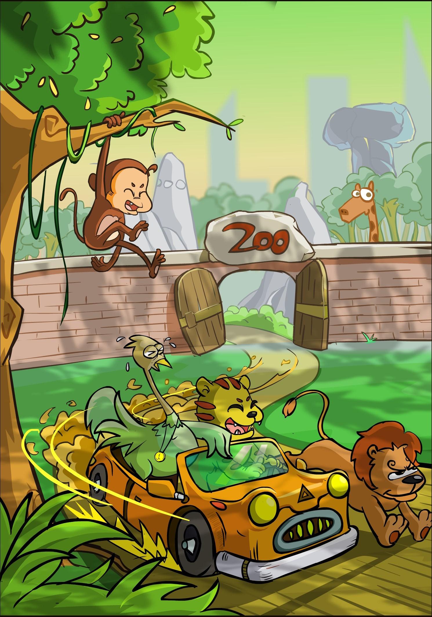 动物园的伙伴们