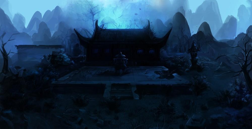 国际资讯_破庙 由 dragon_c 创作 | 乐艺leewiART CG精英艺术社区,汇聚优秀CG ...
