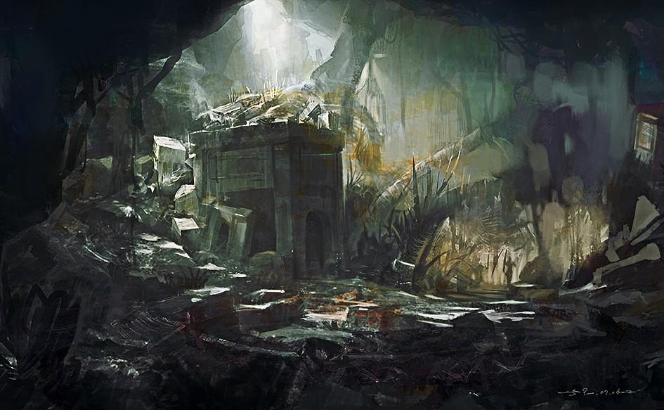 国际资讯_森林废墟 由 9K 创作 | 乐艺leewiART CG精英艺术社区,汇聚优秀CG ...