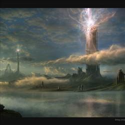 圣塔系列1  爆发的神塔