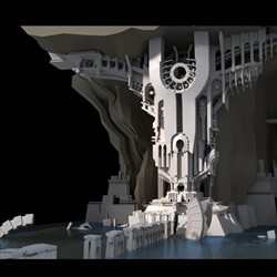 gigantic_underworld_3D environment design