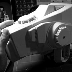 太空堡垒怪兽歼击机改-主体前部