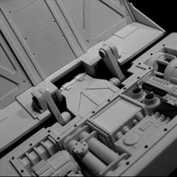 太空堡垒怪兽歼击机改-尾部内构1