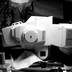 太空堡垒怪兽歼击机改-主体