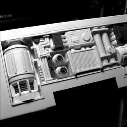 太空堡垒怪兽歼击机改-尾部机构
