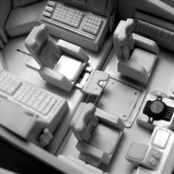 太空堡垒怪兽歼击机改-座舱内部