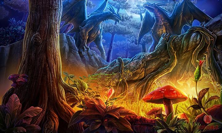 魔法森林 由 三叶虫工作室 创作 | 乐艺leewiart cg,.图片