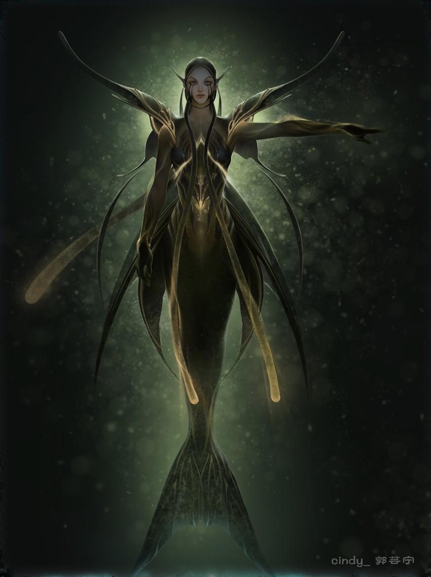 人鱼帝国原画2