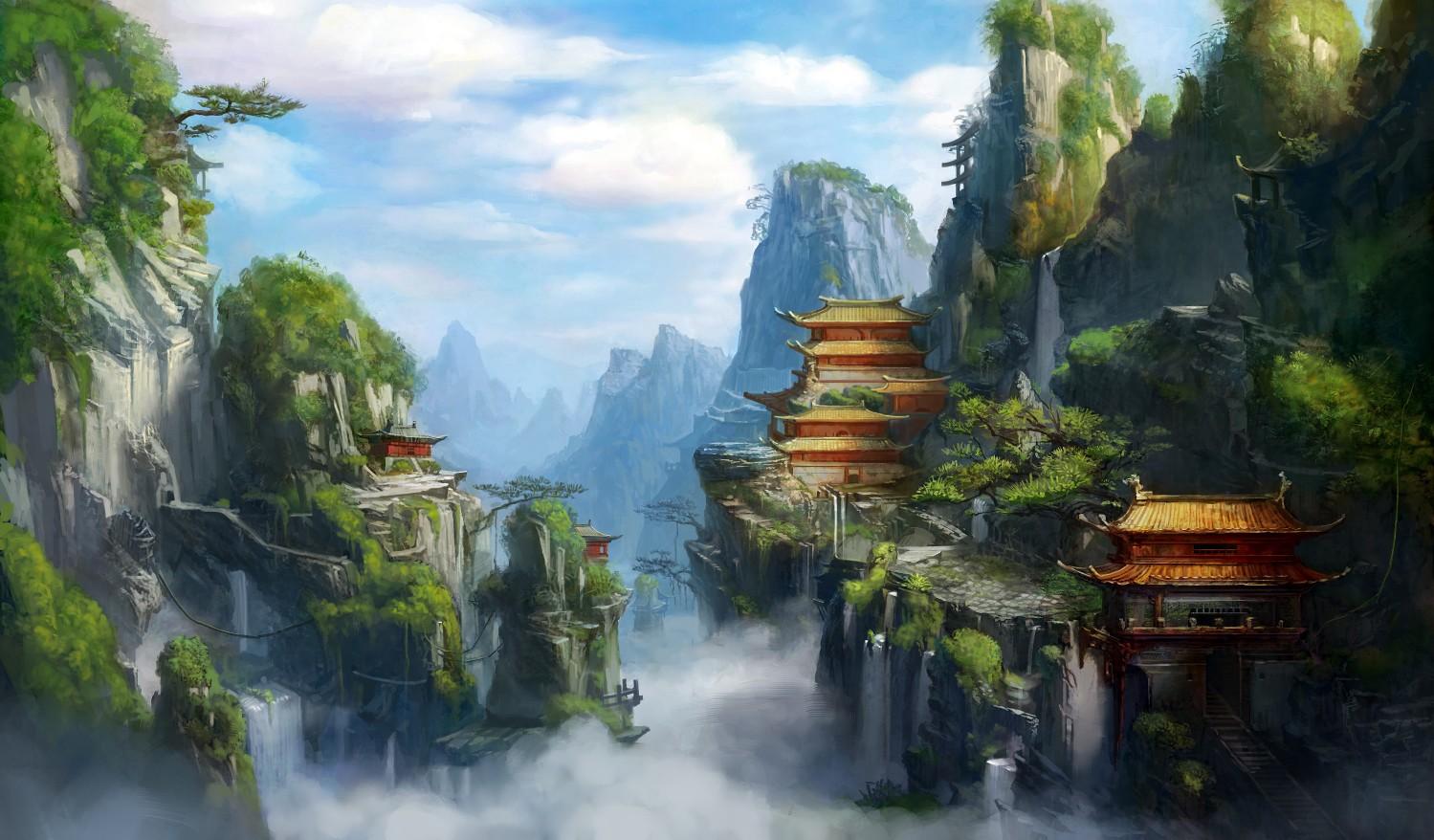 壁纸 风景 山水 桌面 1499_878