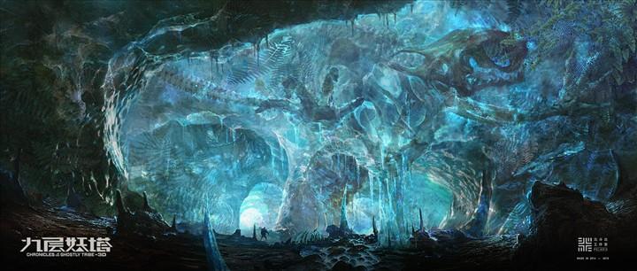 《九层妖塔》概念设计——千年冰洞