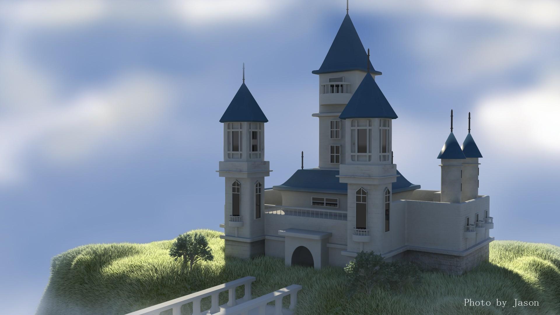 废品手工制作城堡教程