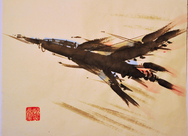 小飞机 由 magicbrush 创作   乐艺leewiart cg精英
