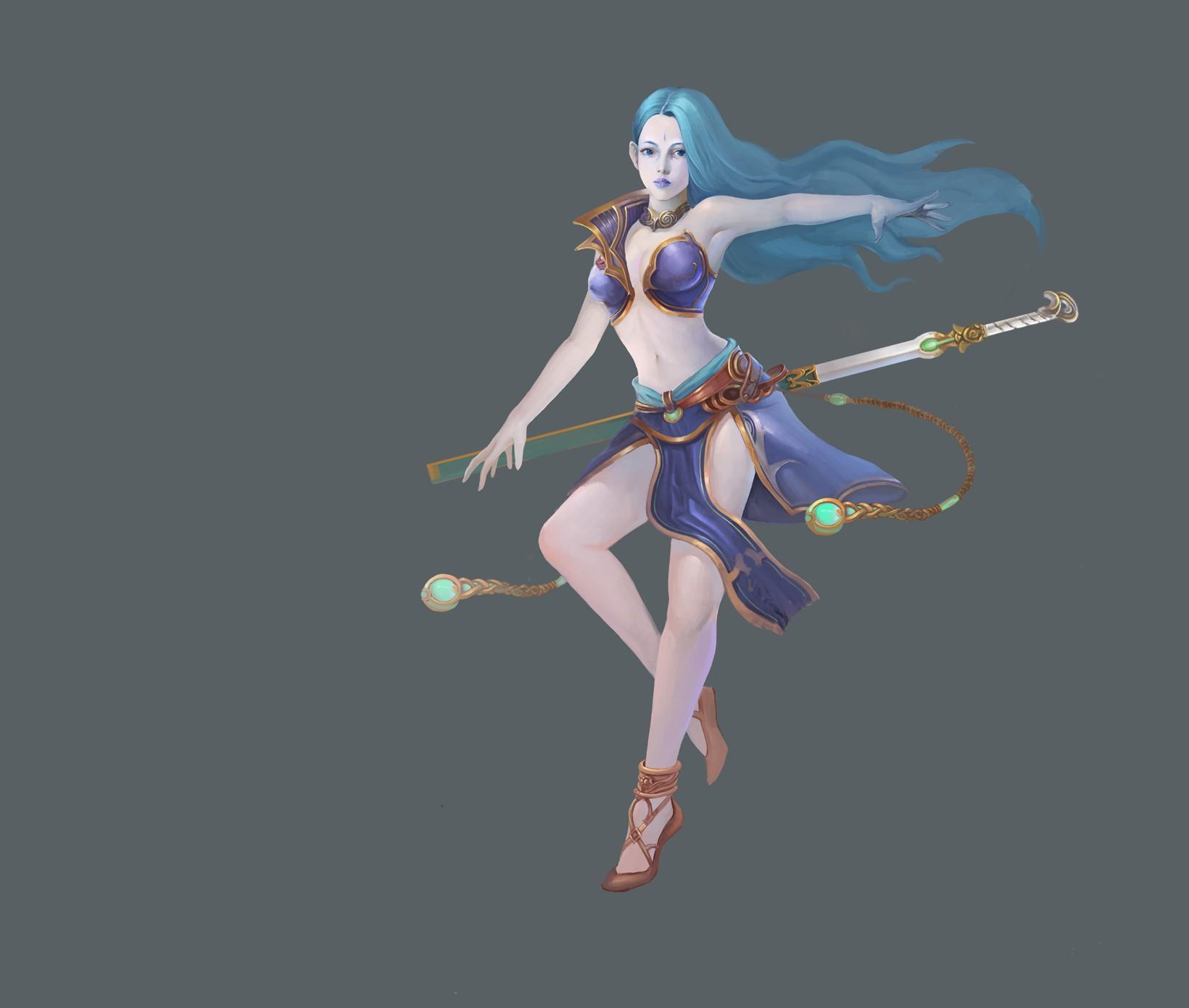 剑女 由 buxianhui 创作