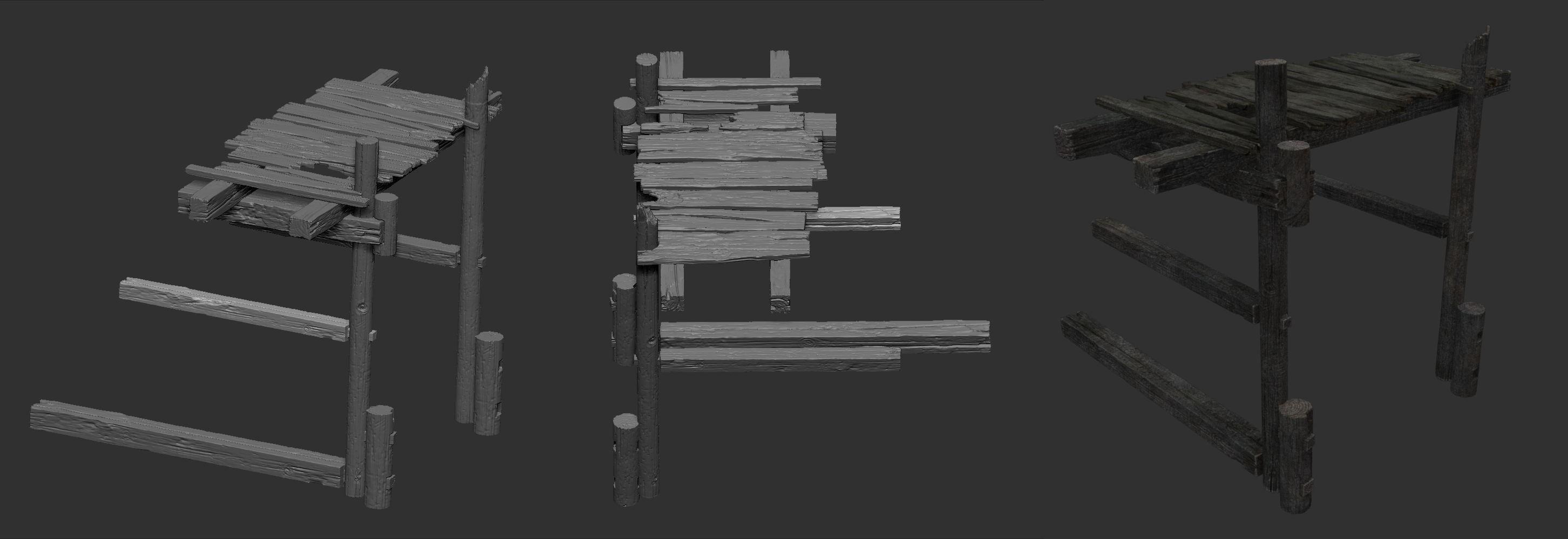 木头台阶 由 yangwenbo