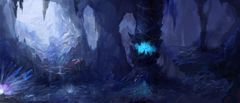 寒冰洞穴 由 panyunfeng 创作 | 乐艺leewiART CG精英艺术社区,汇聚优秀CG艺术作品