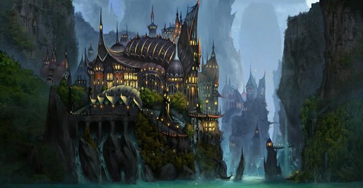 游戏素材 城堡 像素