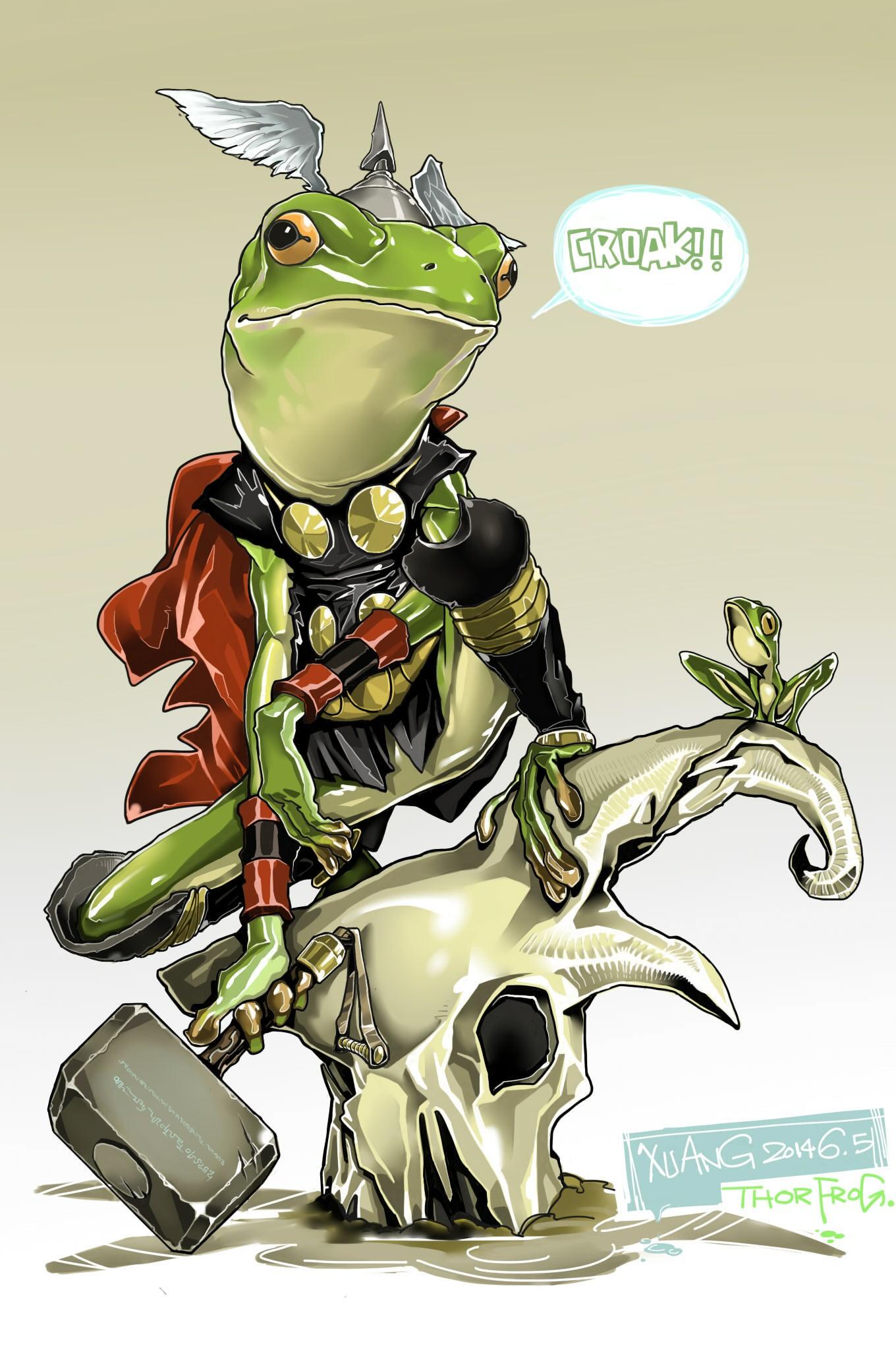 卢西奥宇宙蛙头像