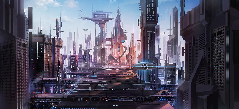 国际资讯_未来城市 由 辛夫 创作 | 乐艺leewiART CG精英艺术社区,汇聚优秀CG ...