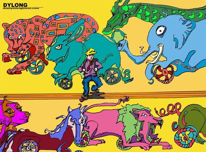 小明的动物世界