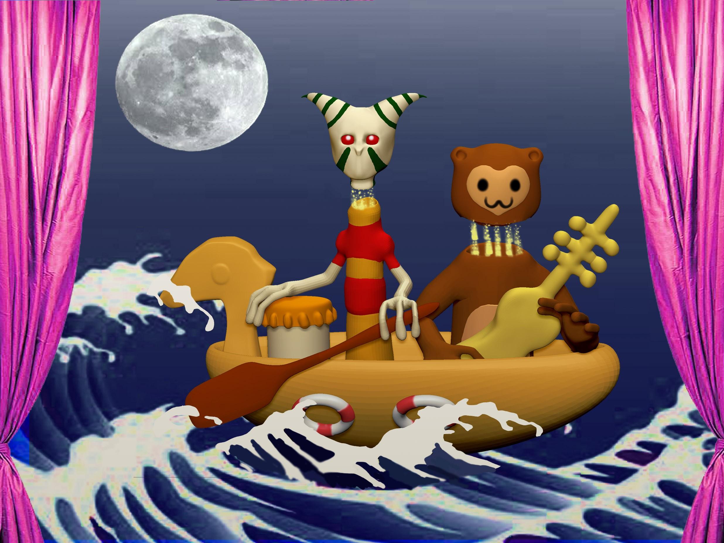 儿歌划船带伴奏曲谱