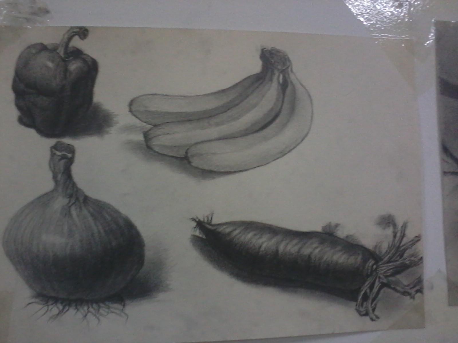 水果素描 由 天心 创作