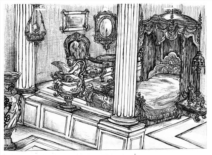 皇家卧室 由 花花sara