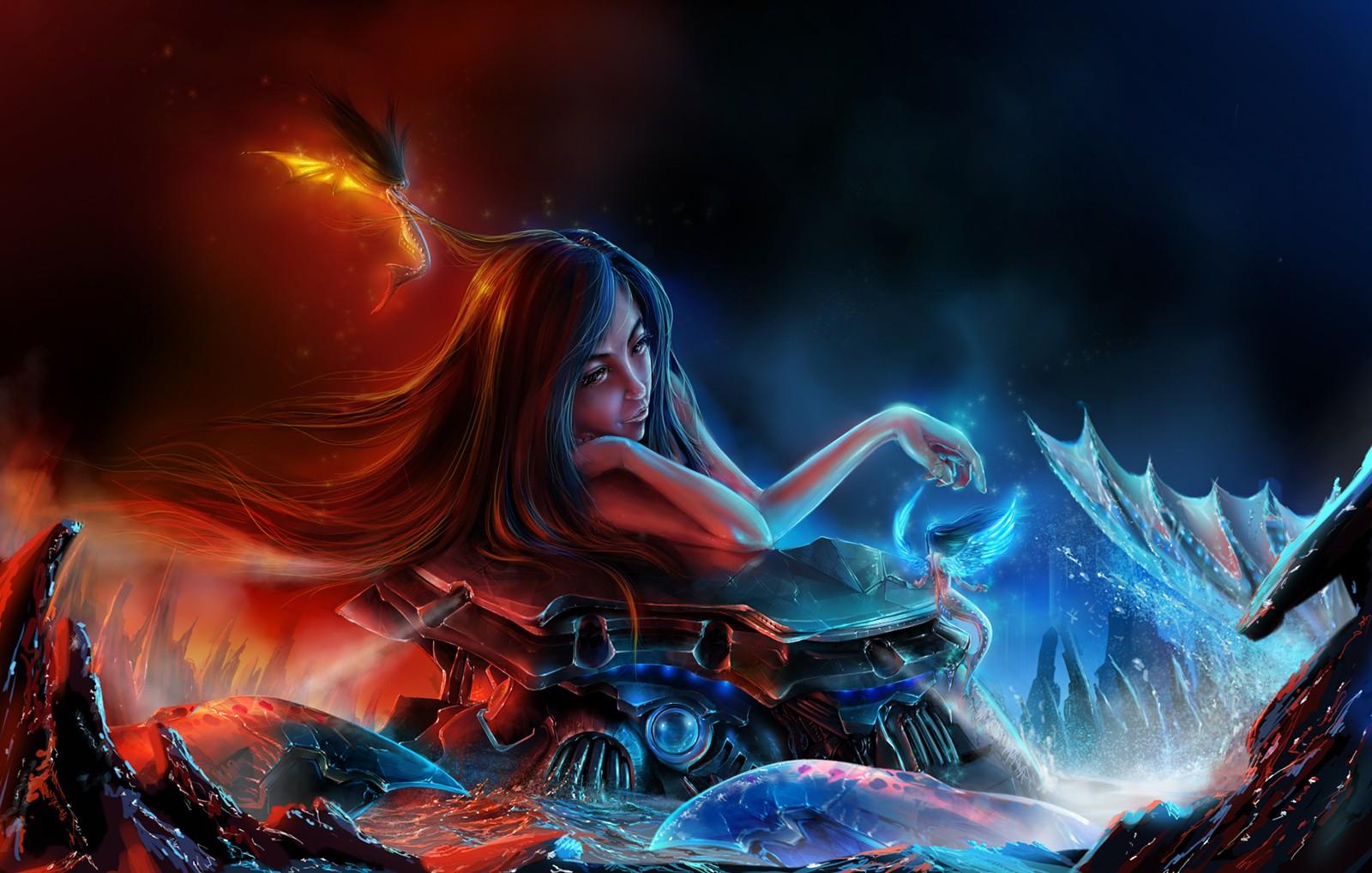 一点资讯_天堂地狱 由 kimtao 创作 | 乐艺leewiART CG精英艺术社区,汇聚优秀CG ...