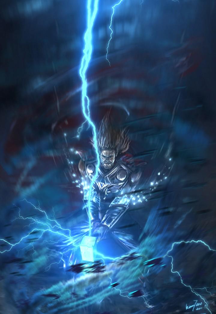 雷神闭合电路图形